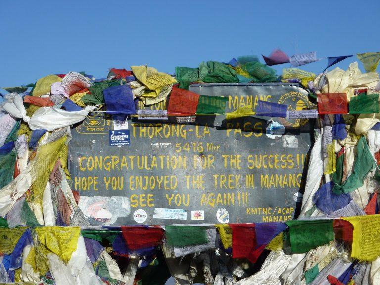 Thorong-La Pass 5416m