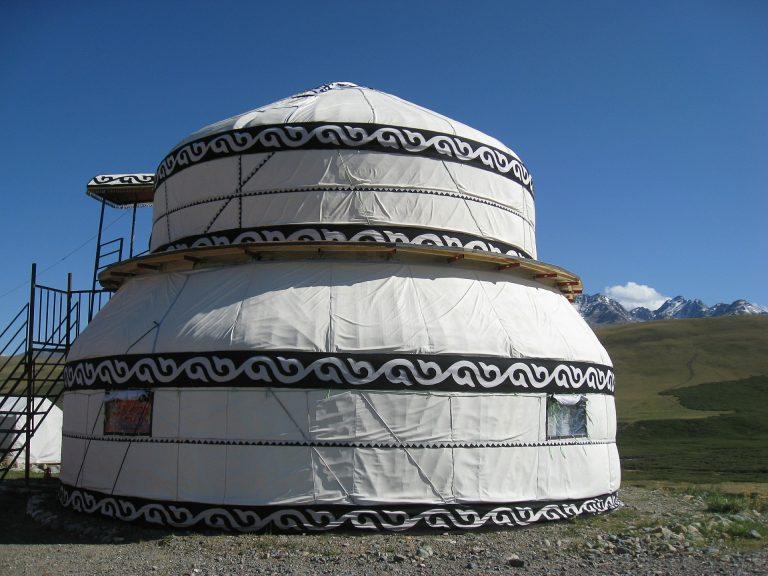 yurta en Kirguistan