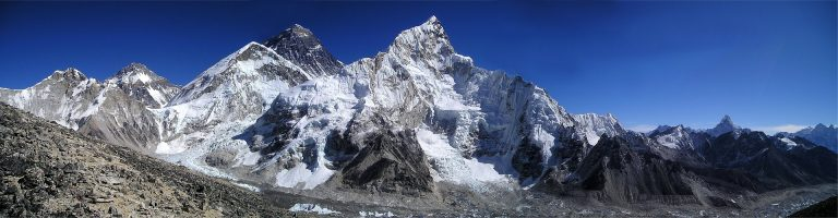 Panoramica del Monte Everest