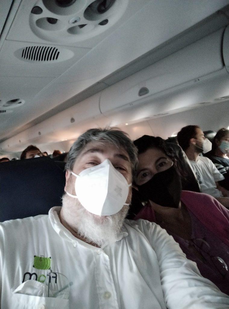 Los nervios...de un vuelo en el verano Covid-19